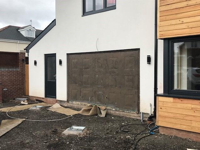 Old Garage Door Removal