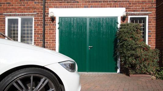 Single Hinged Garage Doors