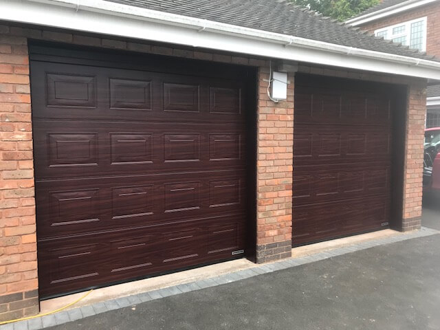 After The Garage Door Installation