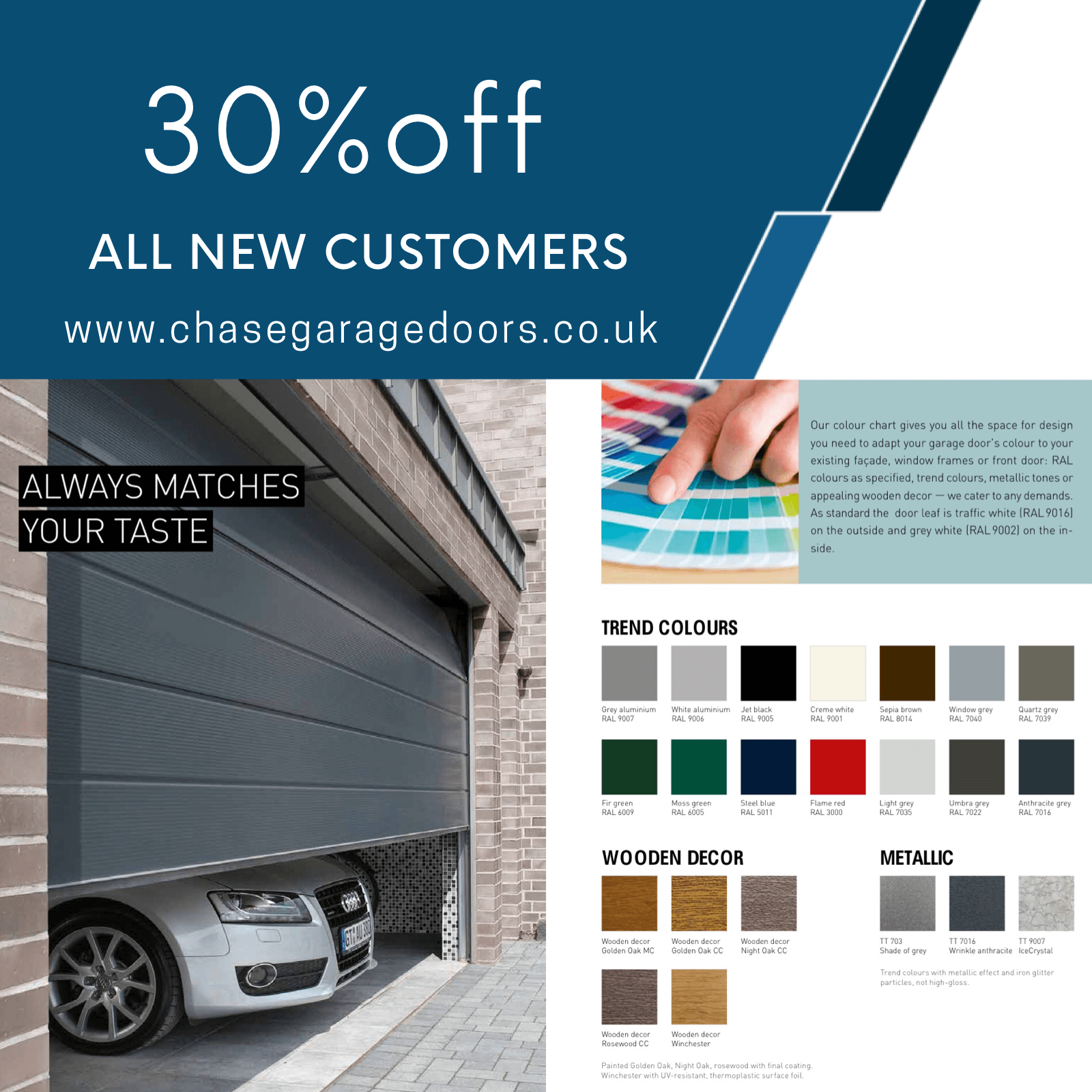 30% Off Garage Doors