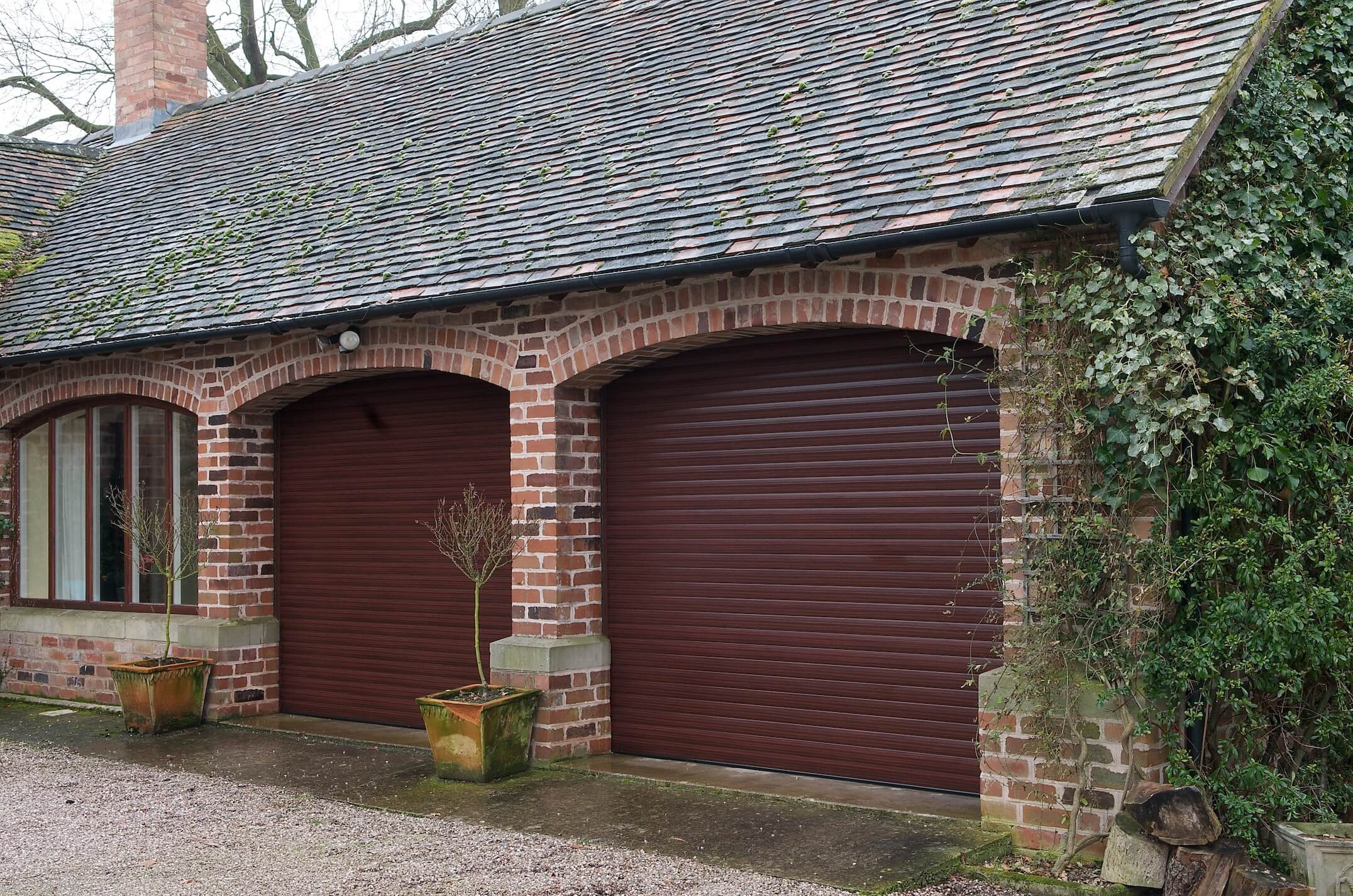 secure roller garage door