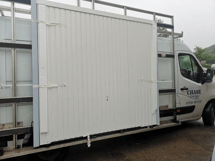 Horman vertical canopy white