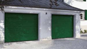 Double Sectional Garage Door